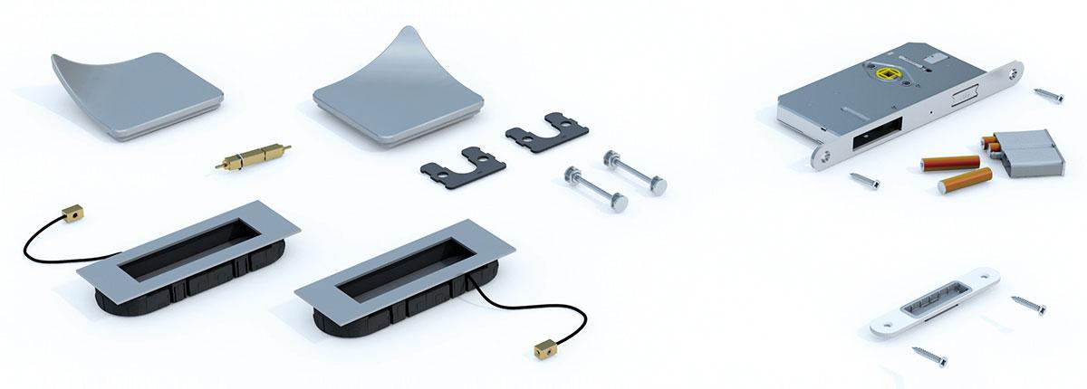 Smart Entrance Komponenten